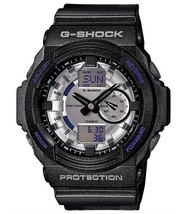 Casio GA150MF-8A Men's G-Shock Silver Metallic Ana-Digi Dial Shock Resis... - $96.99