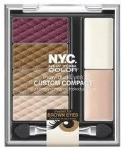 NYC Individual Eyes Compact Union Square (Brown Eyes) by NYC - $14.69
