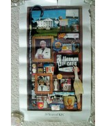 """""""50 Years of KFC  1952-2002"""" Poster - Kentucky Fried Chicken, Colonel Sa... - $33.08"""