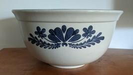 Vintage  Pfaltzgraff Yorktowne  8 Qt Dough Bowl Stoneware Kitchenware Nice! - $59.39