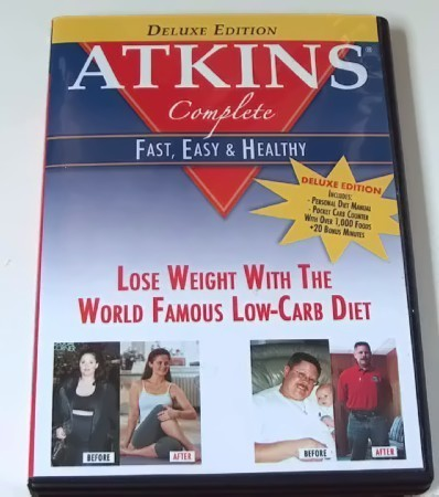 Primary image for Deluxe Edition Atkins Complete Weight Loss DVD