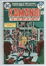 Kamandi #16 The Last Boy on Earth Original DC Comic Book from 1974 Gorilla - $3.59