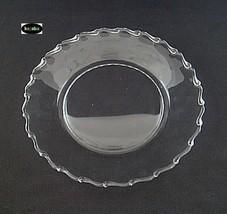 "Fostoria Century Crystal Plate 9 1/2"" Dinner - $9.95"