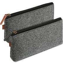 ProCase Pencil Bag Pen Case, Felt Students Stationery Pouch Zipper Bag f... - $20.76