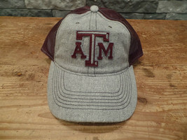 Texas A&M Aggies Hat Cap Adidas Wool/Mesh Snapback Hat New With Tags - $5.99