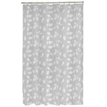 Maytex Mills 60090 Just Leaves  Shower Curtain,  White - $15.41