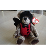 Collectible TY Baby Bugsy Ladybug  Bear Attic Treasures Collection 1993 - $7.99