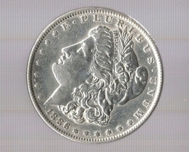 1886 Morgan Silver Dollar - $49.00