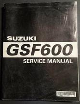 OEM Suzuki GSF600 DEALER Factory Service Manual Repair Book 99500-35044-01E - $19.95