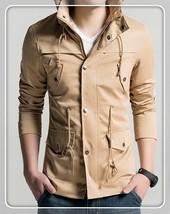 Quality US Size XS-2XL 2018 Hotsale Men Spring Autumn Coat Jacket Men Ou... - $40.08