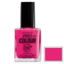 AVON Pro Colour High Speed Pink 60 seconds Nail Enamel 10 ml New Boxed Rare  - $5.00