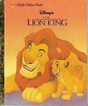 A Little Golden Book Disney's The Lion King - $4.99