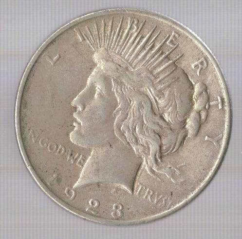 Primary image for 1923 Peace Silver Dollar