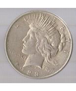 1923 Peace Silver Dollar - $49.00