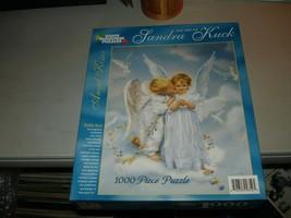 Angel Kisses - Art of Sandra Kuck, 1000 pc Puzzle, White Mountain Puzzle... - $19.79