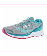 Saucony Zealot ISO 3 Women's Running Shoes Gray/Blue/Pink, Size 6 M - $50.60