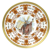 1979 Laszlo Ispanky Goebel The Ten Commandments Second Edition Plate Wit... - $74.76