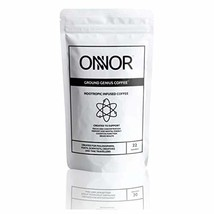 ONNOR Ground Genius Nootropic Coffee for Focus, Memory, Brain Health & Cognitive