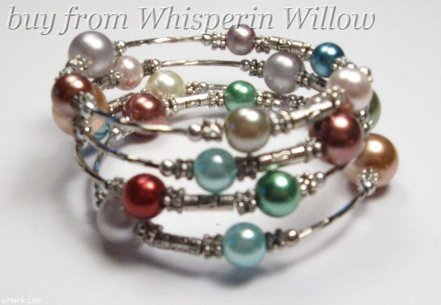 Primary image for 3 tier Fashion Bracelet (Multicolor Fresh Water Pearls