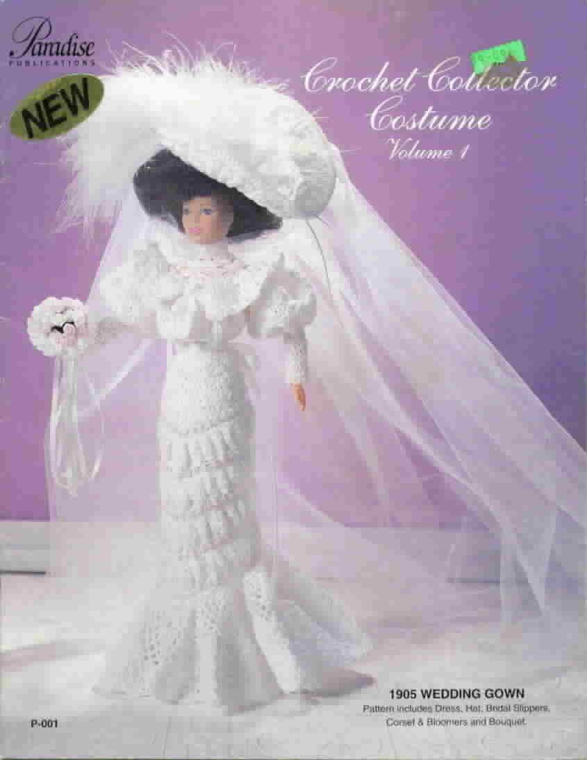 Paradise publications crochet collector costume
