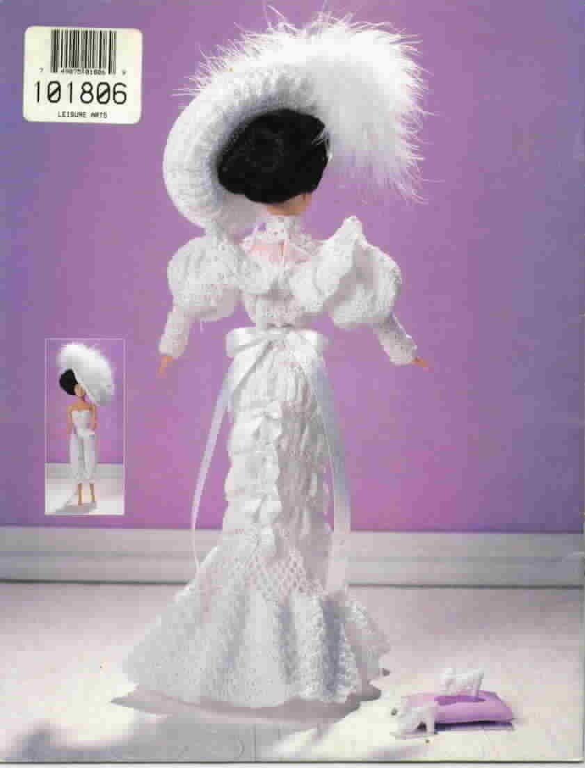 Paradise Collection Crochet Collector Costume 1905 Wedding Gown