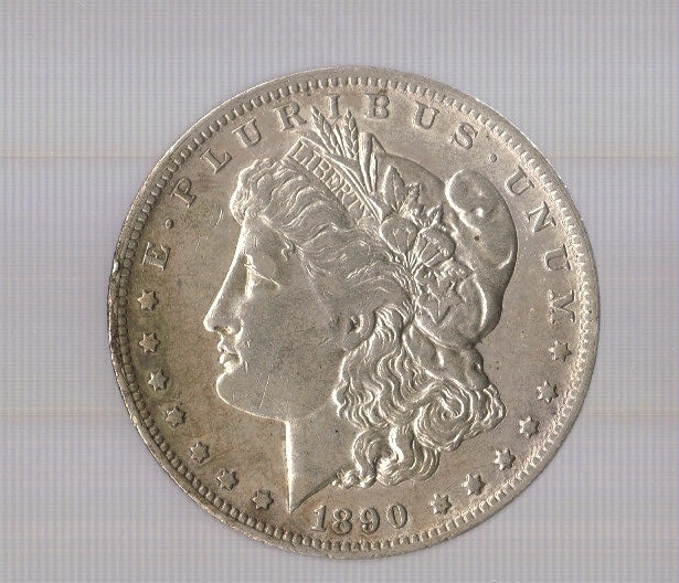 Primary image for 1890- Morgan Silver Dollar