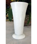 Vintage Fenton Milk Glass Flower Vase - $26.00