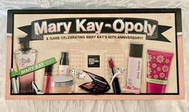 Rare 50th Anniversary Edition Mary Kay-Opoly Collectible Monopoly New Not Sealed - $40.49