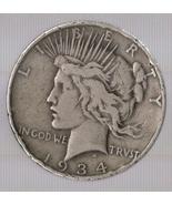 1934-D Peace Silver Dollar - $39.95