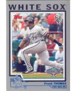 Frank Thomas ~ 2004 Topps Opening Day #5 ~ White Sox - $0.50