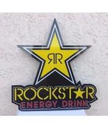 ROCKSTAR  ENERGY  DRINK  LARGE SIGN / USED - $19.99