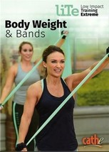 CATHE FRIEDRICH LITE SERIES BODY WEIGHT AND BANDS DVD WORKOUT NEW - $21.24
