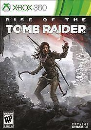Rise of the Tomb Raider (Microsoft Xbox 360, 2015 New) Video Game