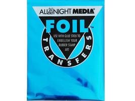 All Night Media Foil Transfer, Blue #72-BLU