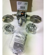 Schlage Fc21 ALX 619 RWDCustom Alexandria-Rosewood Satin Nickel - $58.49