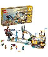 LEGO Creator 3in1 Pirate Roller Coaster 31084 Building Kit 923 Piece - $81.03