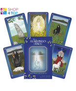 THE AVALONIAN ORACLE CARDS DECK & BOOK JHENAH TELYNDRU SCHIFFER PUBLISHI... - $47.51