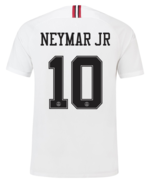 PSG x JORDAN White 10 NEYMAR 2018-2019 Men Soccer Jersey Football Shirt ... - $36.99