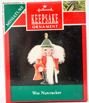 Hallmark  Wee Nutcracker  1990  Miniature Keepsake Ornament - $11.18