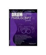 World Music 4all Ultimate Drum Manuscript Book [Sheet music] - $11.76