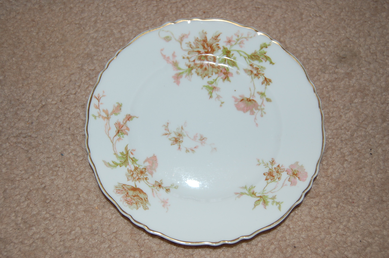 Primary image for Haviland Limoges Poppy Bread Butter Plate 6.5