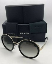 PRADA Sunglasses CATWALK SPR 50T 1AB-0A7 54-23 Black Gold Frame w/ Grey Gradient
