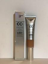 IT Cosmetics CC+COLOR CORRECTING FULL COVERAGE CREAM SPF50 -TAN - NIB - $28.70