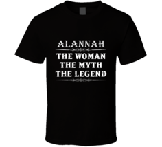Alannah The Woman The Myth The Legend Mother's Day Gift For Her Trendy T... - €19,35 EUR