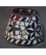 Americana Mosaic Candle Shade- Home Interiors- U.S.A. - $7.99