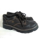 Skechers Womens Trail Hiking Shoes Size 8, 38 EUR Brown Leather S6 Free ... - $37.95