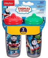 Playtex Sipsters Stage 3 Thomas The Train Spill-Proof, Leak-Proof, Break... - $32.66
