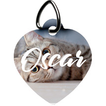 Personalized Heart Pet Tag - Custom Heart Pet Tags - Perfect Gift for Your Pets - $18.95