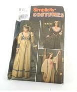Simplicity 8192 Size 10 12 14 Renaissance Dress Bodice Option Pattern Un... - $17.94