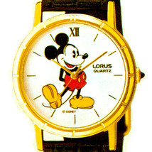 Mickey Disney Lorus, Rare Mother Of Pearl, Pie Eyed Never Worn Watch, RP... - $78.06